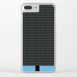 Cubo Negro -Detail- Clear iPhone Case