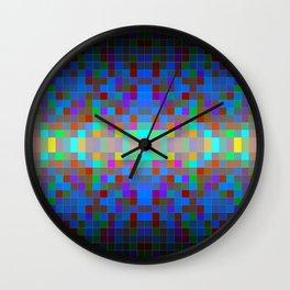 Momo pixel Wall Clock