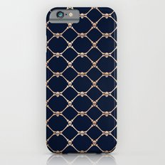 Skulls & Bones Diamond Pattern iPhone 6s Slim Case