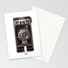 old vintage camera Stationery Cards