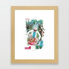 Mortyo's Spacey Cereals Framed Art Print