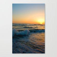 Ocean Sunset 4 Canvas Print