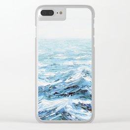 Spellbound Seas Clear iPhone Case