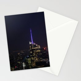 NYC Iconic Night Sky Stationery Cards