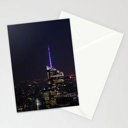 NYC Iconic Night Sky Stationery Cards