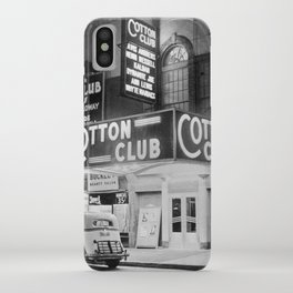 African American Harlem Renaissance Cotton Club Jazz Age Photograph iPhone Case