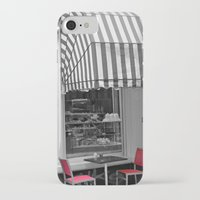 cafe iPhone & iPod Cases featuring Chic Cafe by DuniStudioDesign