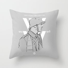 WW1 Centenary Throw Pillow