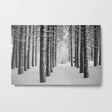 Hometown Pine Metal Print
