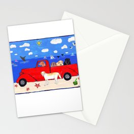 The Salty Dogs Stationery Cards