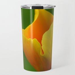 Glowing Yellow Travel Mug