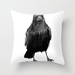 Crow (3) Throw Pillow