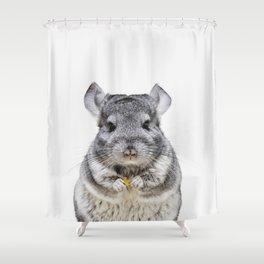 Chinchilla Shower Curtain