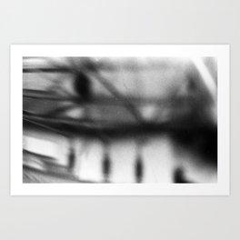 Drop a Line Art Print