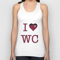 wesley bird Tank Tops featuring I Heart Wesley Crusher by Illustrated by Jenny