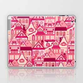Pink Little Town Laptop & iPad Skin