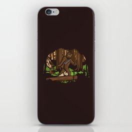 The Bigfoot of Endor iPhone Skin
