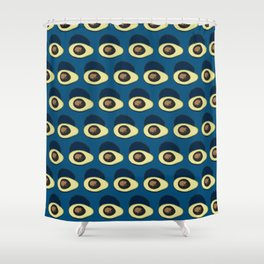 Life Cycle of an Avocado Shower Curtain