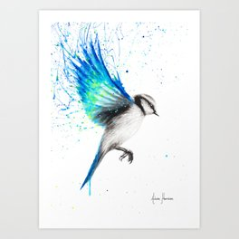 Tropical Oasis Bird Art Print