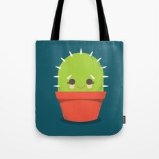 Kawaii Cactus Dude Tote Bag