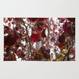 Red Tree Rug