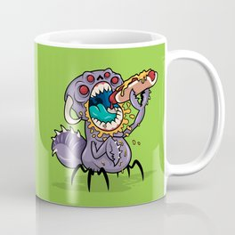 Om Nom Alien Bug Coffee Mug
