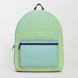 GHOSTY - Minimal Plain Soft Mood Color Blend Prints Backpack