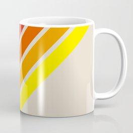 Classic Retro Stripes Alisanus Coffee Mug
