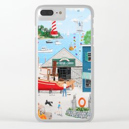 Where the Buoys Are Clear iPhone Case