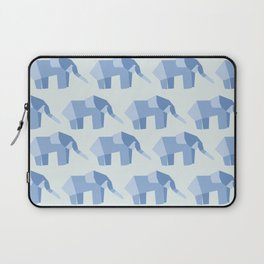 E is for Elephant  Laptop Sleeve