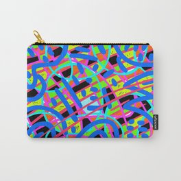 Neon Glow Carry-All Pouch