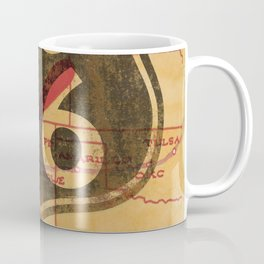 Route 66 Vintage Travel Poster Coffee Mug