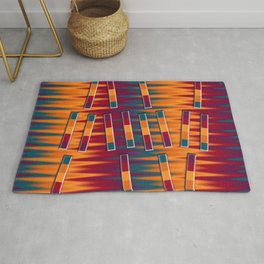Bars of Colors Rug
