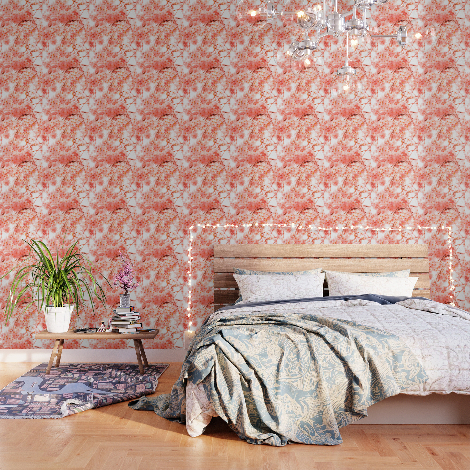 Cherry Blossoms Wallpaper By Vintageby2sweet Society6