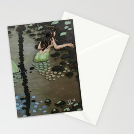 Sea Under the Forest Stationery Cards