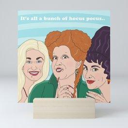 Hocus Pocus Witches Mini Art Print