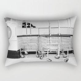 At the Laundromat Rectangular Pillow