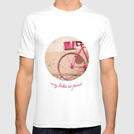 Lady in Pink T-shirt