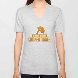 Chicken Dinner - PUBG Unisex V-Neck