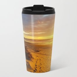 Cannon Beach Oregon at Sunset Haystack Rock Travel Mug