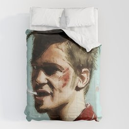 Tyler Cigarette Painting Comforters