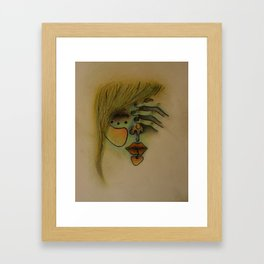 tired Framed Art Print