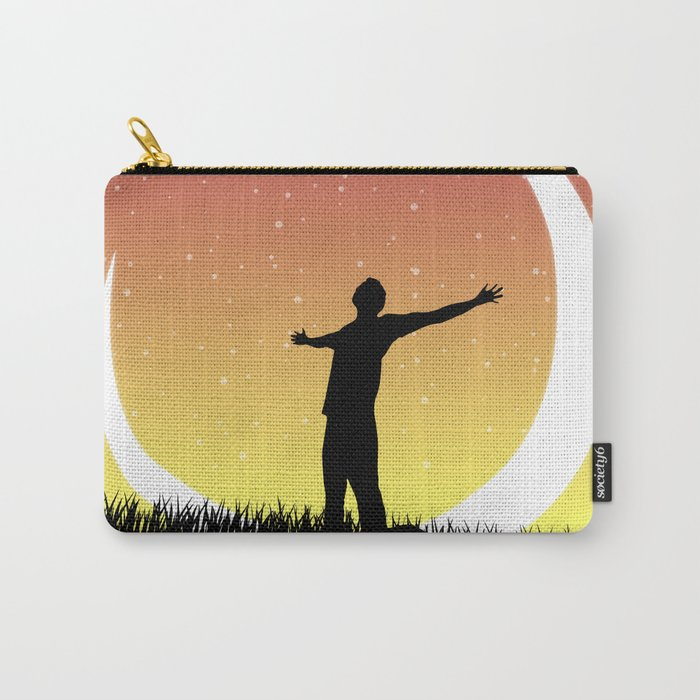Moonlight Bright Carry-All Pouch