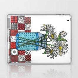Daisies in a Mason Jar Laptop & iPad Skin