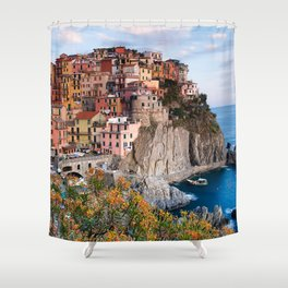 Italy Village Shower Curtain