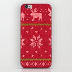Winter Lovers Christmas iPhone & iPod Skin