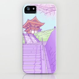 Everyday places in Japan iPhone Case
