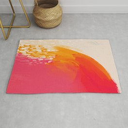 The Bright Abstract Waterfall Rug