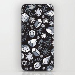 Winter diamonds iPhone Skin
