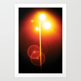 sodium vapor light Art Print